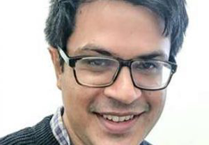Super close-up of nilanjan DAS